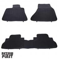 Covorase Presuri Auto Negru din Cauciuc pentru BMW X5 (F15) 2013-, X6 (F16) 2014-