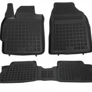 Covorase Presuri Auto Negru din Cauciuc pentru TOYOTA Auris 02/2007-2012, Corolla 10/2006-2013