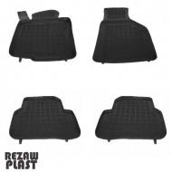 Covorase Presuri Auto Negru din Cauciuc pentru VW Jetta 2010-, Passat B6 2005-2010, Passat B7 2010-2014, Passat CC 06/2008-2012, CC 2012-, Passat Allt