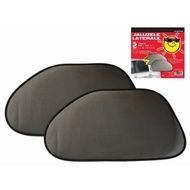 Parasolare laterale-spate RoGroup, negru, 2 buc/set
