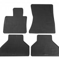 Set 4 covorase auto din cauciuc PETEX, negru, pentru pentru BMW X5 (E70) 03/2007-10/2013, X6 (E71) 06/2008-11/2014, X5 (F15) 11/2013, X6 (F16) 12/2014