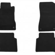 Set 4 covorase auto din mocheta, negru, pentru pentru MERCEDES E-Klasse (W211) E220-E500 03/2002-02/2009, T-Modell 03/2003-10/2009-