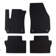 Set 4 covorase auto din mocheta, negru, pentru pentru OPEL Zafira B 07/2005-12/2014-