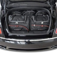 BENTLEY CONTINENTAL NEW FLYING SPUR 2005+ CAR BAGS SET 5 PCS