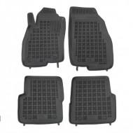 Covorase Presuri Auto Negru din Cauciuc pentru FIAT Punto III 2012 -