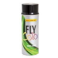 DUPLICOLOR Fly Color negru lucios RAL 9005 - 400ml cod 400673