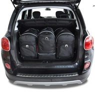FIAT 500L 2012+ CAR BAGS SET 3 PCS