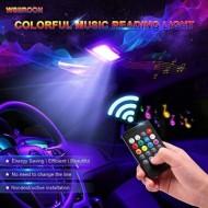 Set 2 LED-uri multicolore pentru plafoniera