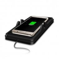 Suport telefon pad RoGroup, cu incarcare wireless