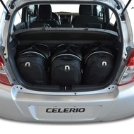 SUZUKI CELERIO 2014+ CAR BAGS SET 3 PCS