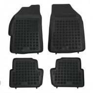 Covorase Presuri Auto Negru din Cauciuc pentru CHEVROLET Spark II 2010-2013