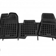 Covorase Presuri Auto Negru din Cauciuc pentru FORD Transit Custom (2012-) Tourneo Custom (2013-2018) Transit VIII (2013-)