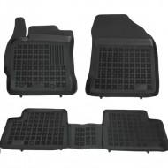 Covorase Presuri Auto Negru din Cauciuc pentru TOYOTA Auris II, Auris Hybrid 2012- .