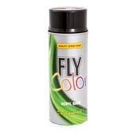 DUPLICOLOR Fly Color negru mat RAL 9005 - 400ml cod 400857