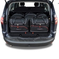 FORD S-Max 2006+2015 CAR BAGS SET 5 PCS