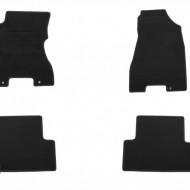 Set 4 covorase auto din mocheta, negru, pentru pentru NISSAN X-Trail (T31) 06/2007 - 06/2014-