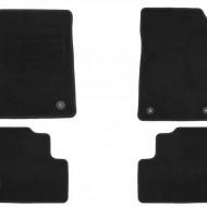 Set 4 covorase auto din mocheta, negru, pentru pentru OPEL Zafira C 01/2012-