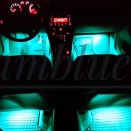 Banda led auto ambientala, cu telecomanda, 8 culori