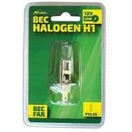 Bec auto cu halogen pentru far H1 RoGroup, 12V, 55W, P14.5s, 1 buc