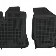 Covorase Presuri Auto Negru din Cauciuc pentru FIAT Doblo II (2010-) OPEL Combo D (2011-2018)