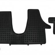 Covorase Presuri Auto Negru din Cauciuc pentru VW Transporter T5 2003 + T6 2015+