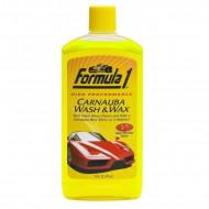 Sampon auto Formula 1, cu ceara, 473 ml