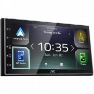Sistem multimedia Apple CarPlay, Android Auto, JVC KWM741BT
