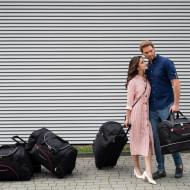 HONDA CR-V 2018+ Set de 4 Bagaje