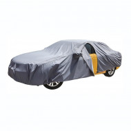 Prelata auto impermeabila 3 straturi RoGroup, marimea XL, gri
