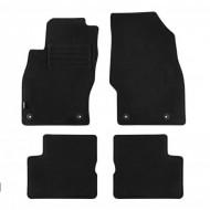 Set 4 covorase auto din mocheta, negru, pentru pentru OPEL Corsa D 10/2006-10/2014-