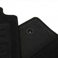 Set 4 covorase auto din mocheta, negru, pentru pentru OPEL Meriva Modell 2004-05/2010-