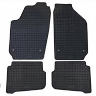 Set 4 covorase auto din mocheta, negru, pentru pentru VW Polo Polo 2002-2009, Cross Polo 2006-2010