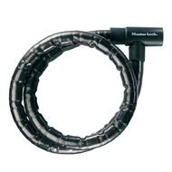 MASTERLOCK Cablu 8115EURDPS bicicleta, armat, din otel imbracat in vinil, inchidere cu cheie, dimens