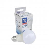 Bec LED Tungsram E27 forma clasic, 9W, 10000 ore, lumina rece