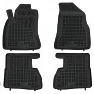 Covorase Presuri Auto Negru din Cauciuc pentru FIAT Doblo II 2009- OPEL Combo C 2011- versiuni 5, 7 locuri