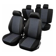 Huse Scaune Auto RoGroup cu airbag pt bancheta rabatabila fractionata, 9 bucati