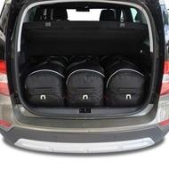SKODA YETI 2009-2017 CAR BAGS SET 3 PCS