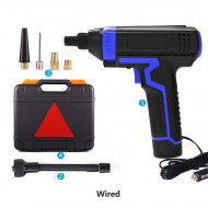 Compresor pentru umflat roti tip pistol Siegbert, afisaj digital, cu fir 3m, 10 bari
