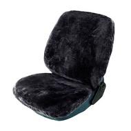 Husa scaun auto din blana RoGroup, antracit, 1 bucata