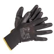 Manusi cu pelicula din poliuretan (PU) negre Bunting Black Eco HS-04-003 mar. 10