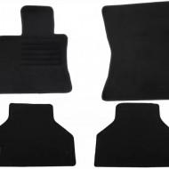 Set 4 covorase auto din mocheta, negru, pentru pentru BMW X5 (E70) 03/2007-10/2013 5-locuri-
