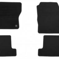 Set 4 covorase auto din mocheta, negru, pentru pentru FORD Focus 03/2011-05/2015, Focus Turnier 05/2011-05/2015-