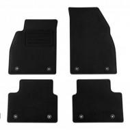 Set 4 covorase auto din mocheta, negru, pentru pentru OPEL Insignia 11/2008-08/2013, Insignia Sports Tourer 02/2009-08/2013-