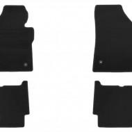 Set 4 covorase auto din mocheta, negru, pentru pentru VW Touran Modell 2007-08/2015 5 locuri-