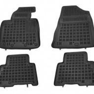 Covorase Presuri Auto Negru din Cauciuc pentru KIA Sorento II 2012-2014