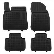 Covorase Presuri Auto Negru din Cauciuc pentru VW TOUAREG III (2018-) 5 seats