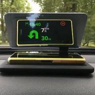 Display auto pentru telefon tip HUD