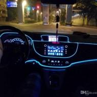 Fir electroluminescent neon flexibil auto