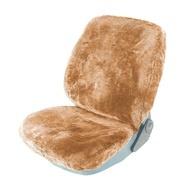 Husa scaun auto din blana RoGroup, maro deschis, 1 bucata