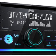 Receptor audio cu Bluetooth si CD, format 2 DIN, JVC KWR930BT